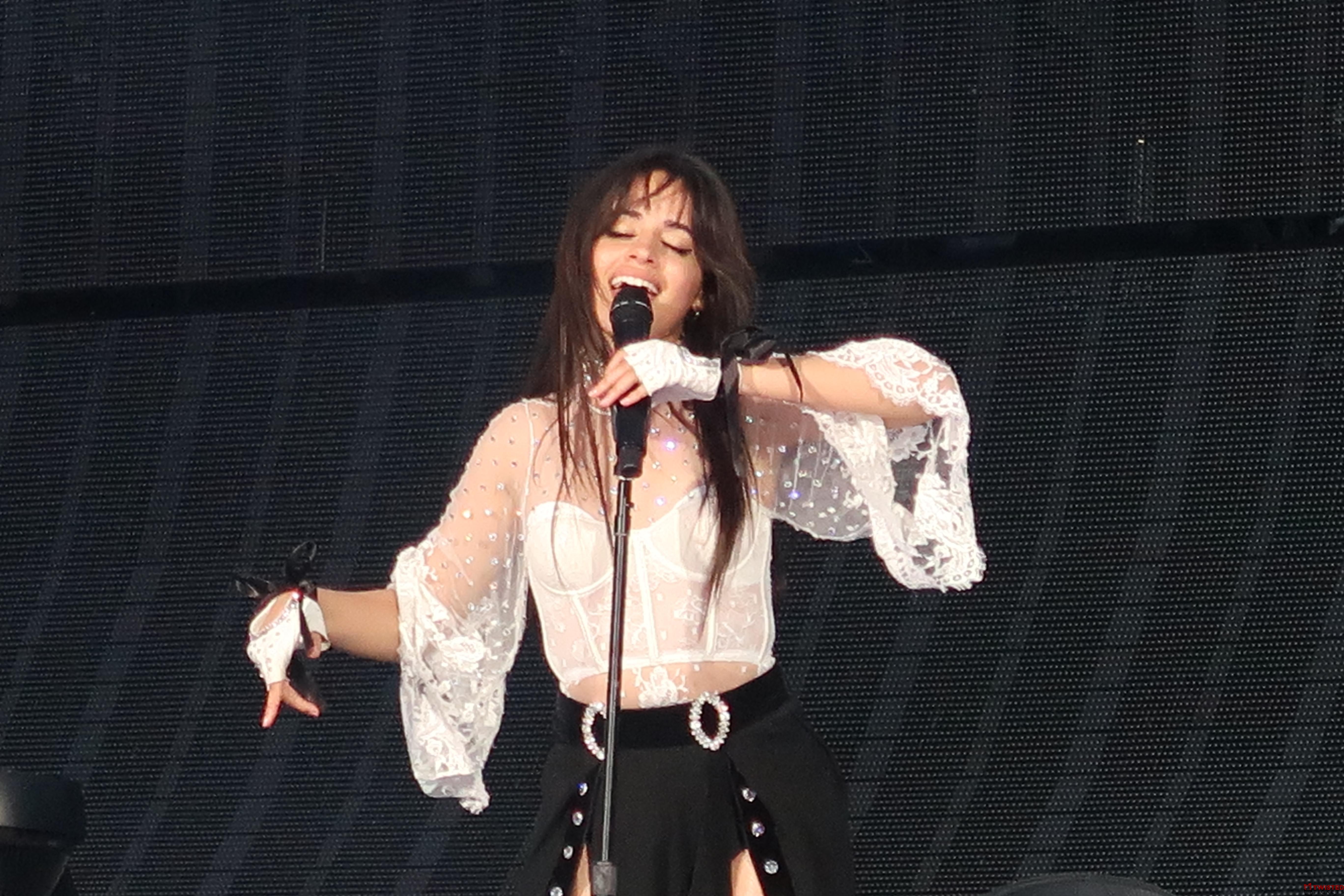 Camila Cabello concert photo